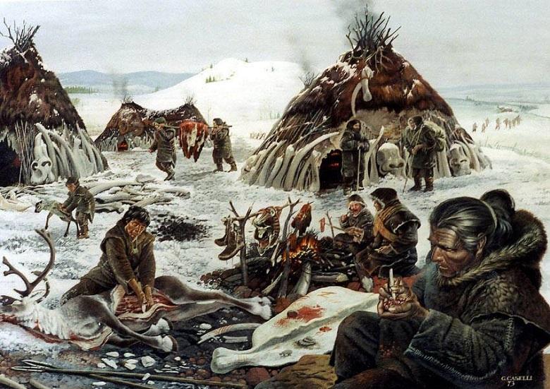 בני אדם שרדו כי אכלו חיות