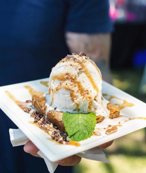 גלידת קוקוס, קרמל ווניל