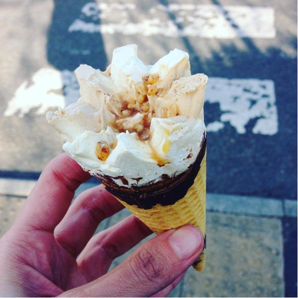 גלידת טופי ללא חלב