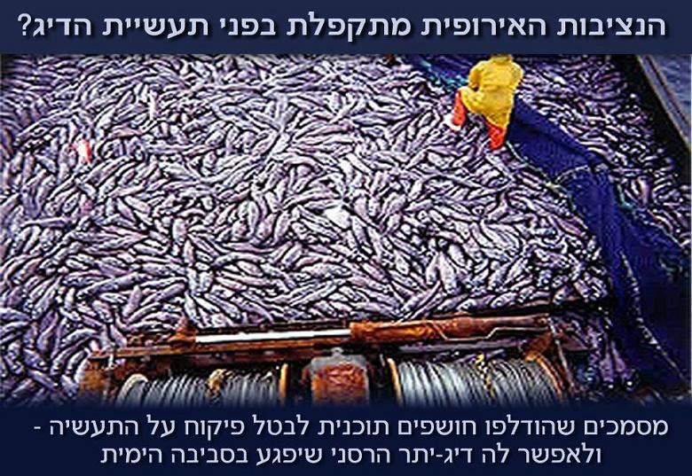 הנציבות האירופית מתקפלת בפני תעשיית הדיג