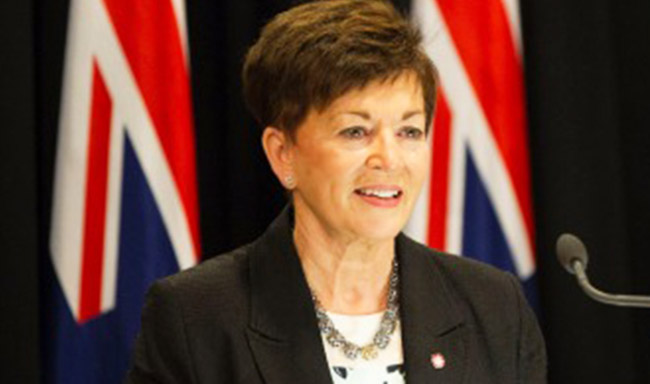 פטסי רדי - המושלת הכללית הטבעונית הראשונה של ניו זילנד