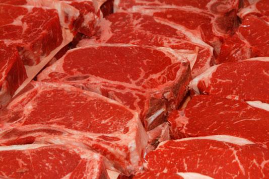 פחמן חד חמצני שומר על הבשר אדום
