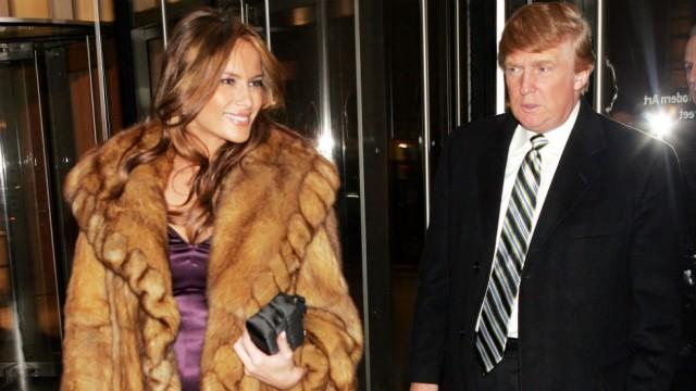 פמלה אנדרסון תשלח לאשת הנשיא, מלאניה טראמפ, מעיל פרווה טבעוני