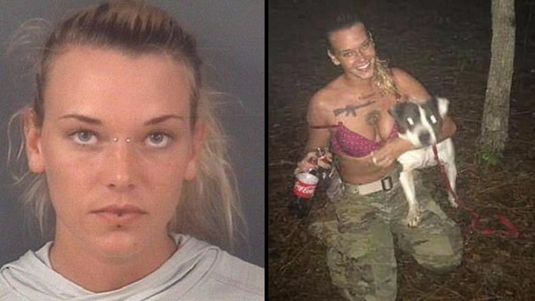חיילת אמריקאית שהסריטה עצמה יורה בכלבה התאבדה