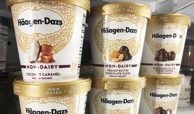 האגן דאז הוציאה ארבע גלידות טבעוניות