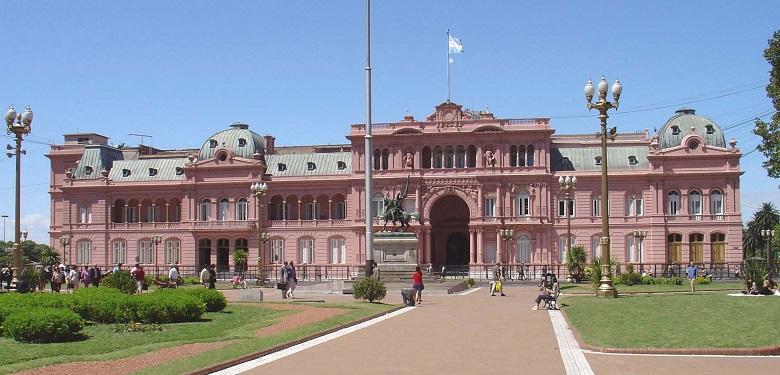 קאסה רוסאדה, בית הנשיא של ארגנטינה, עובר לימי שני טבעוניים