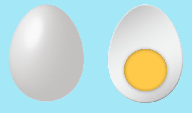סטודנטים פיתחו רפליקה טבעונית של ביצה קשה