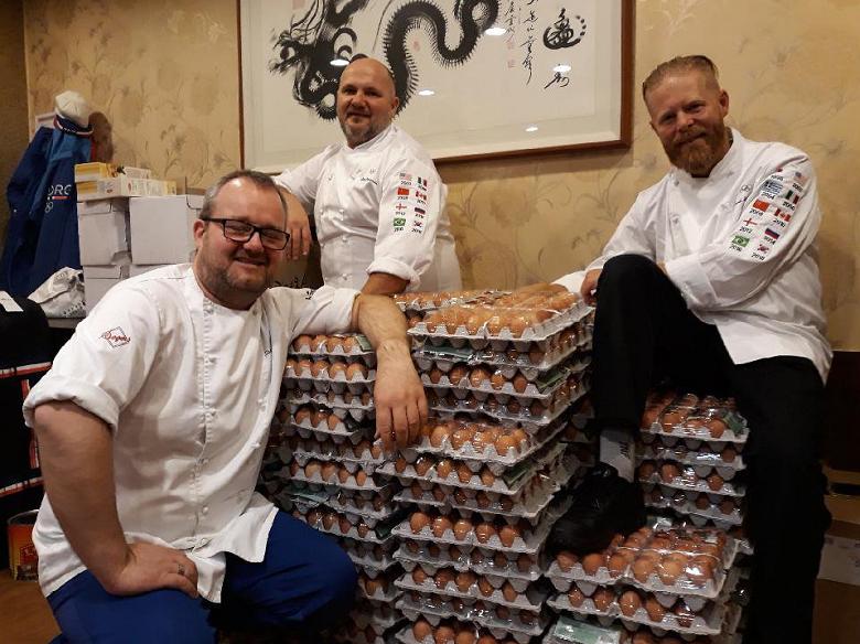 אולימפיאדת החורף: המשלחת הנורבגית הזמינה 1,500 ביצים וקיבלה 15,000