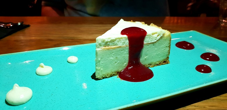 הארץ: עוגת הגבינה של מסעדת 416 הייתה מהטעימות שטעמו