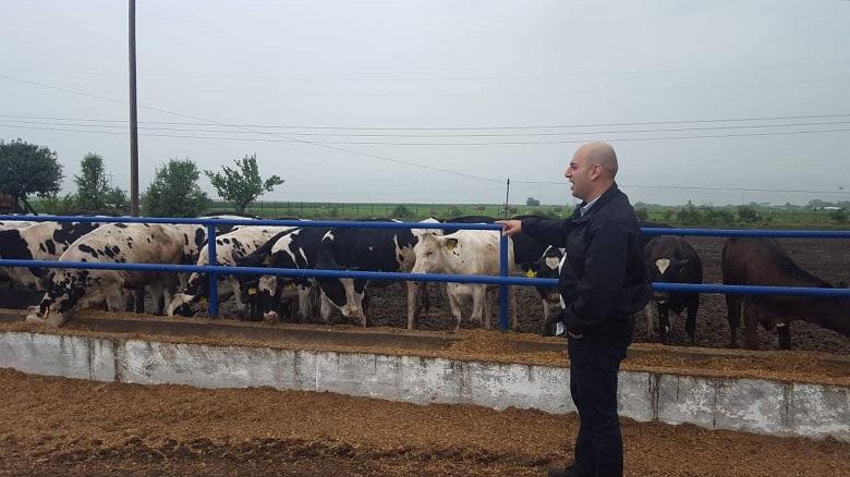 ברוך ליוייב במסע פגישות פרלמנטריות נגד התעללות בבעלי חיים