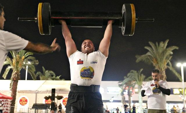יונה לייטאיזן הטבעוני ייצג את ישראל בתחרויות Strongman בעולם