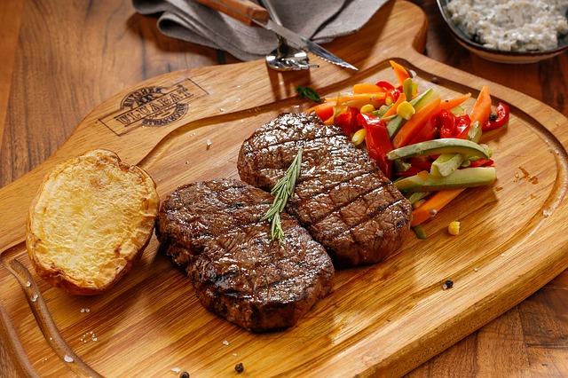 סטייק בשר מתורבת: טעימה מהעתיד