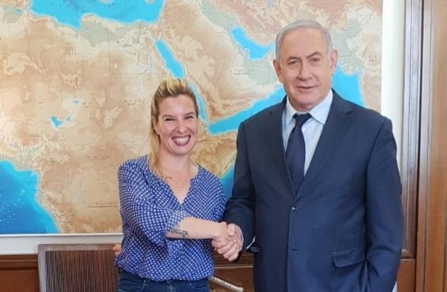 טל גלבוע התחילה בעבודתה כיועצת ראש הממשלה