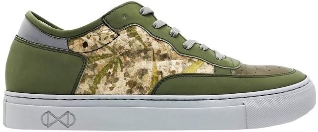 חדש: נעליים טבעוניות שמכילות עלי קנאביס