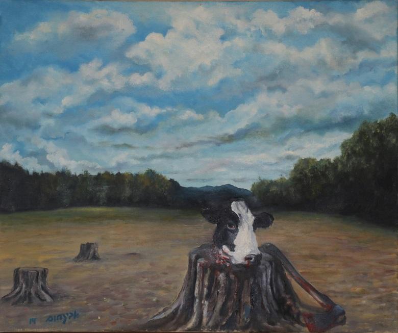 אשר ראו עינייך: תערוכת ציורים של הצייר אבי נחום