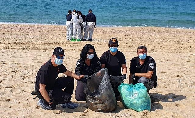 זיהום הזפת בחופים: החקירה והטיפול
